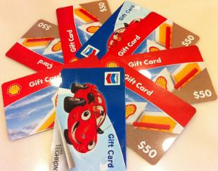 Chevron Gas Gift Card